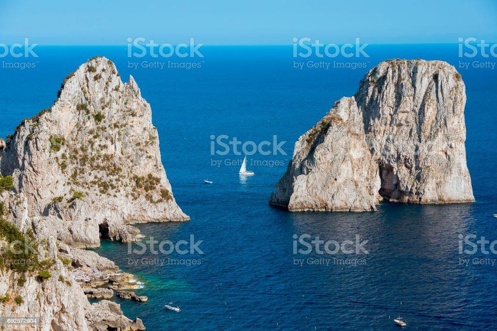 Capri island, Campania region, Italy stock photo