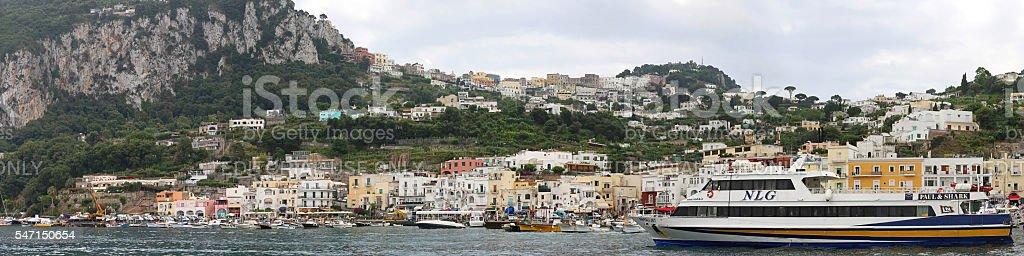 Capri Panorama stock photo