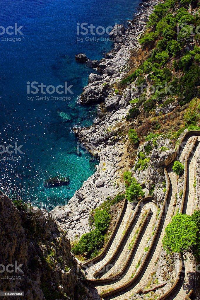 Capri royalty-free stock photo