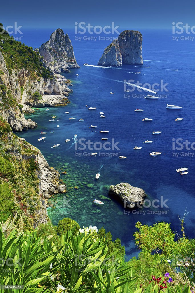Capri stock photo