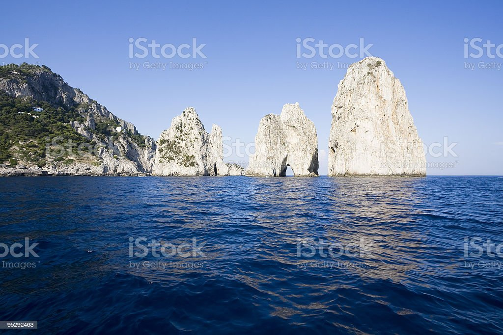 Capri royalty-free stock photo