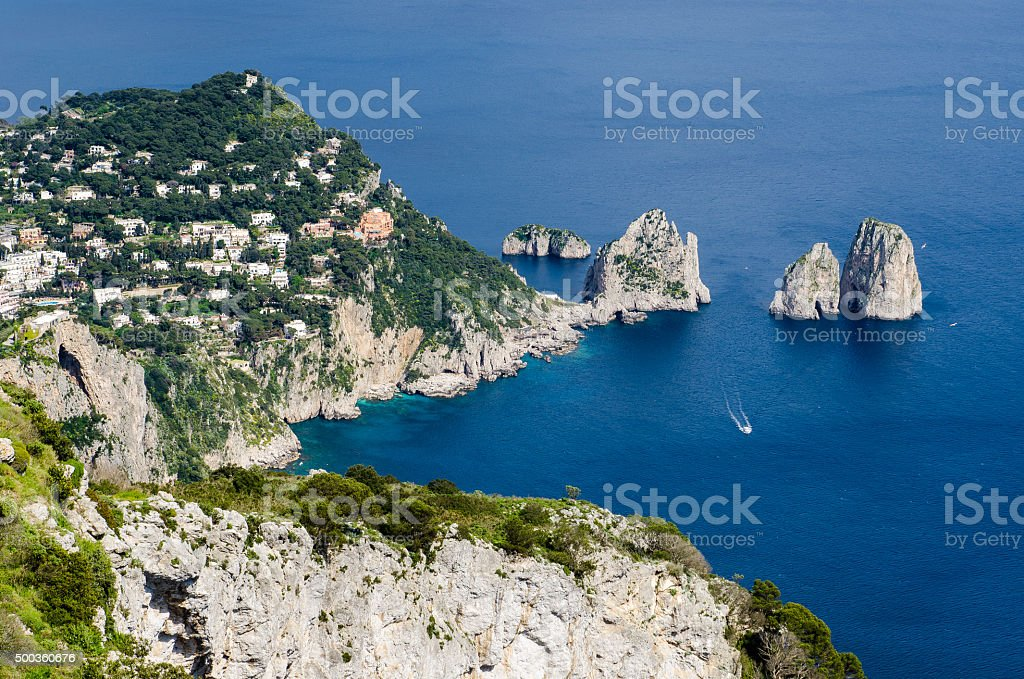 Capri Stacks stock photo