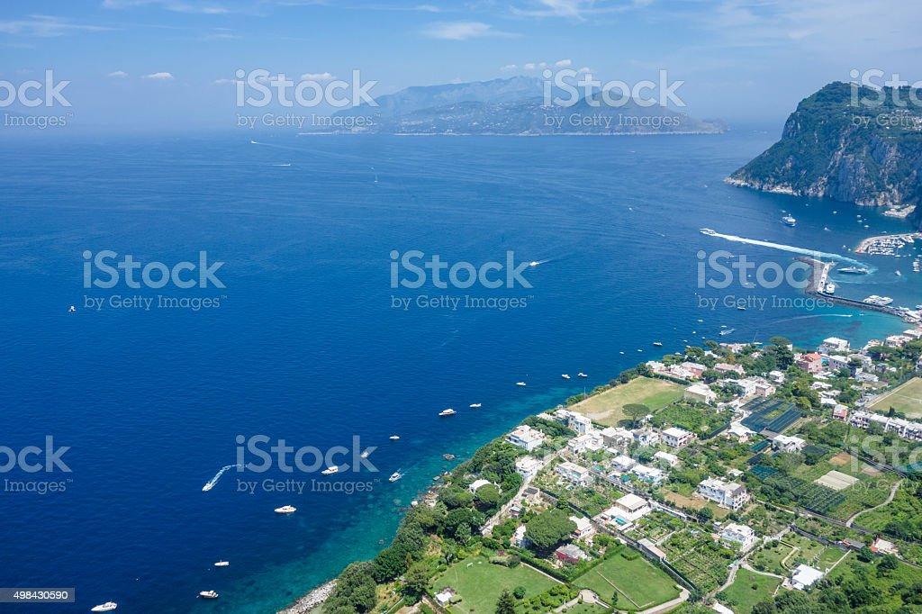 Capri View stock photo