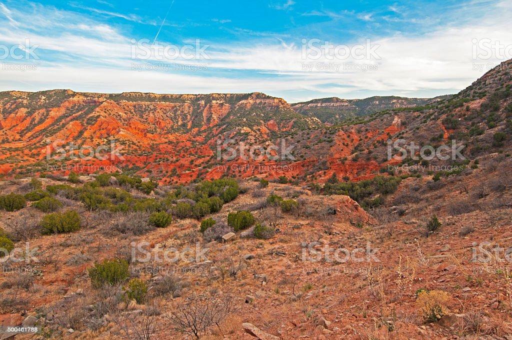 Caprock Canyons, Texas stock photo