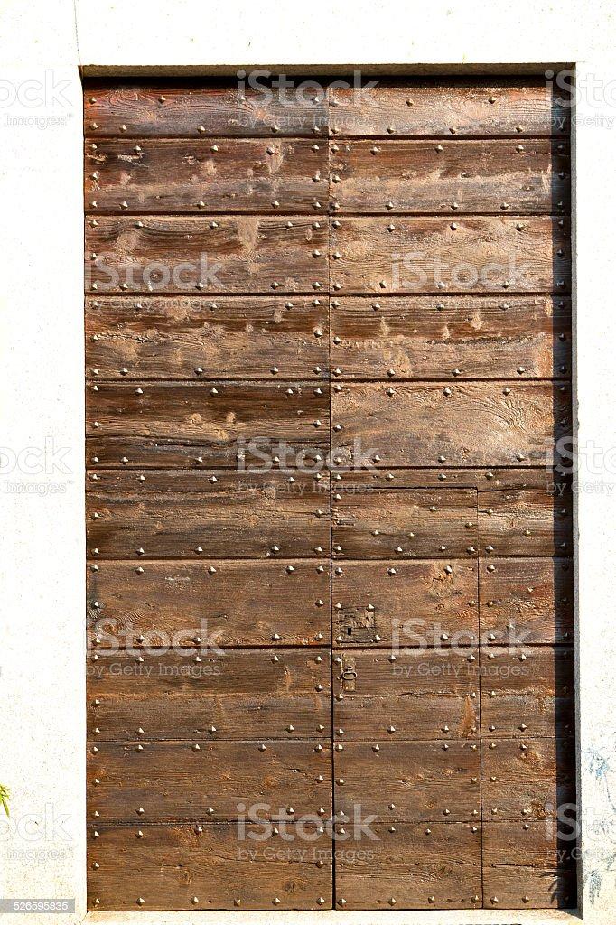 capronno  abstract     closed wood italy  lombardy stock photo
