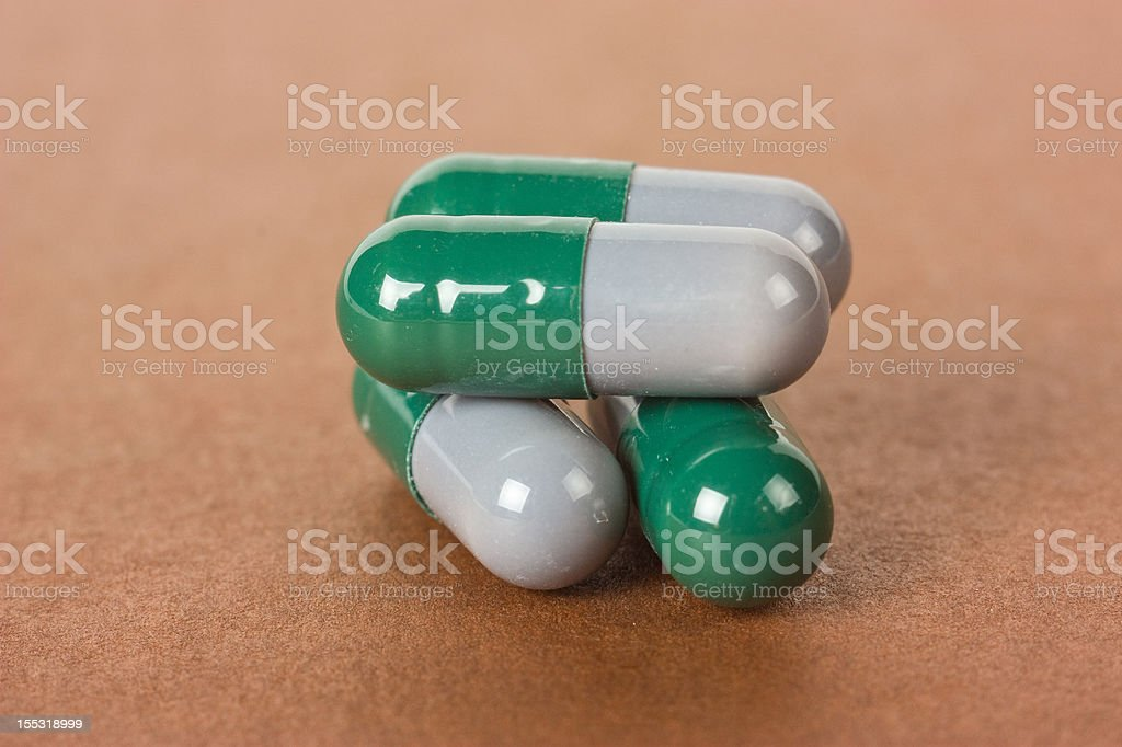 Capsule royalty-free stock photo
