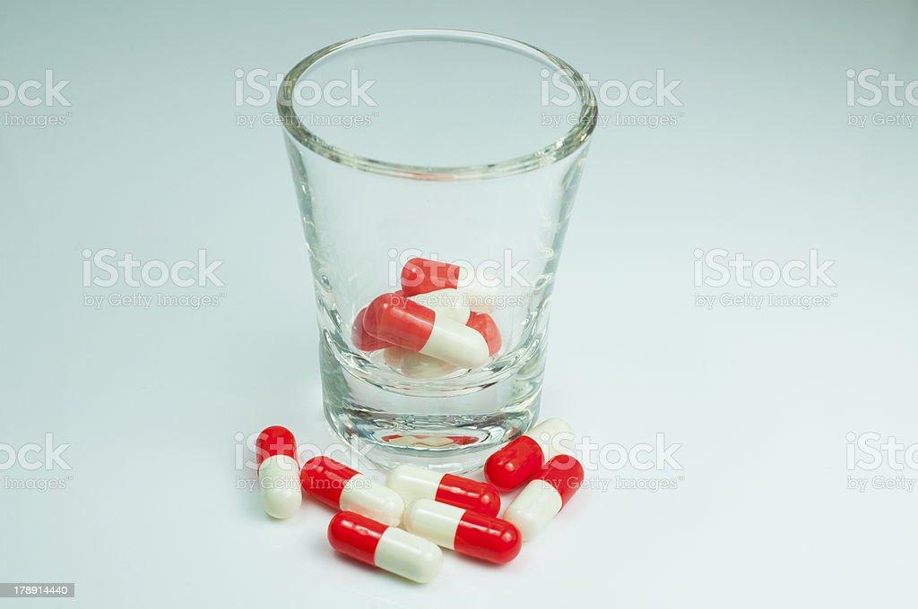 Capsule, Pill royalty-free stock photo