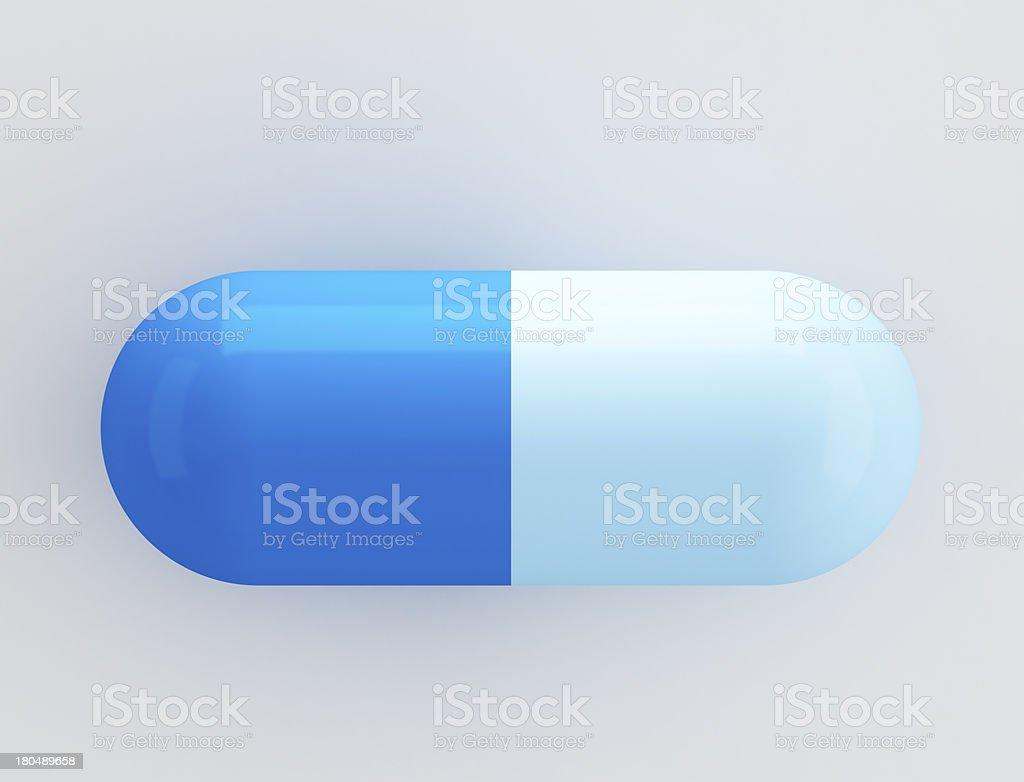 Capsule pill royalty-free stock photo