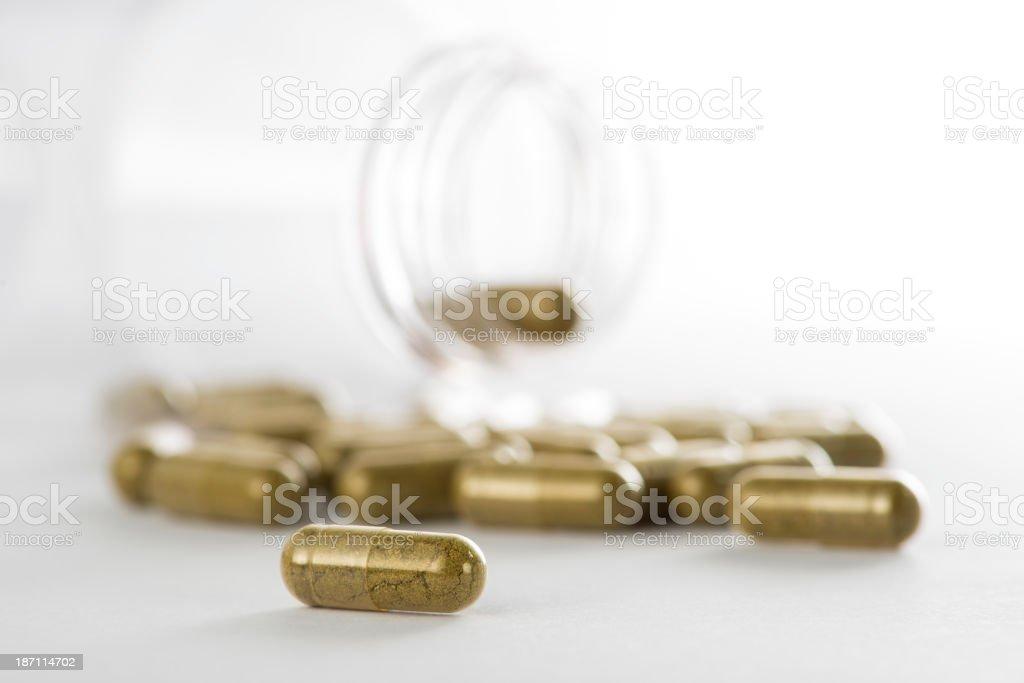 Capsule Pills royalty-free stock photo
