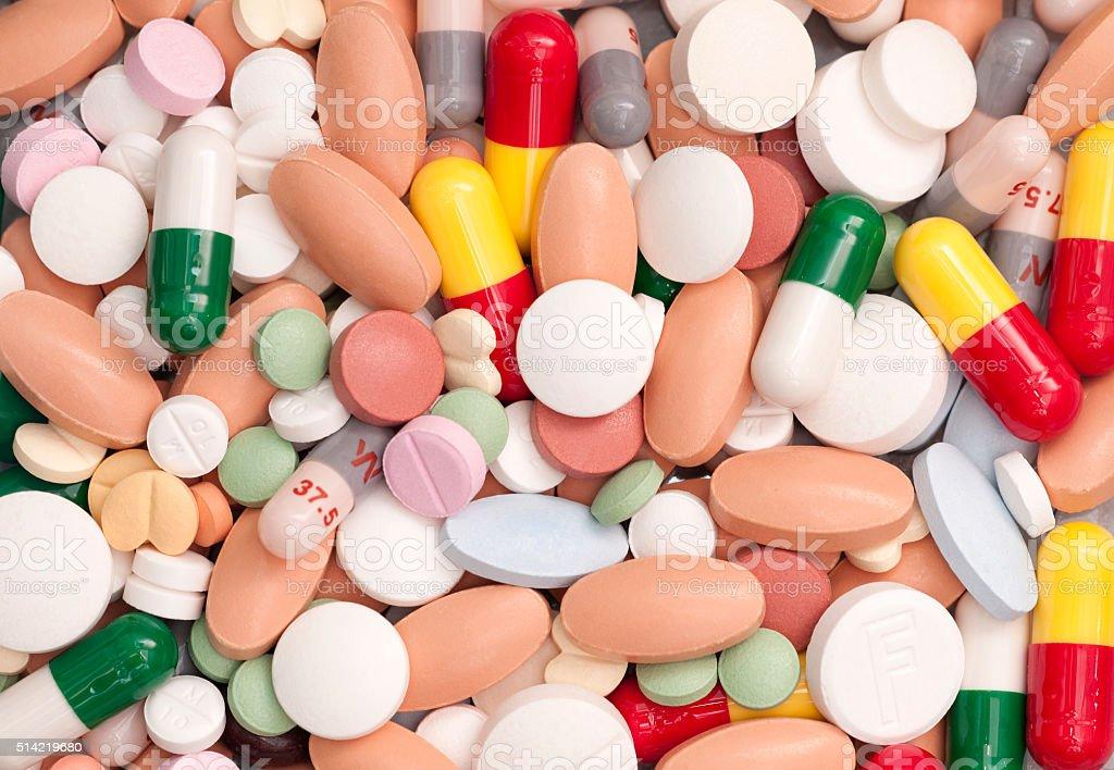 Capsules and Pills stock photo