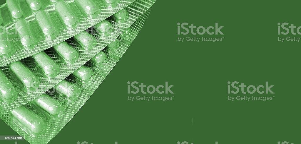 Таблетки обезболивающие зеленого цвета