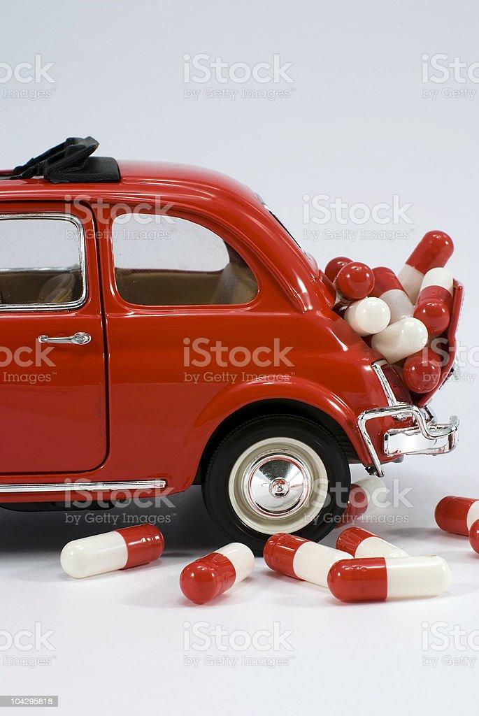 Capsules transport royalty-free stock photo