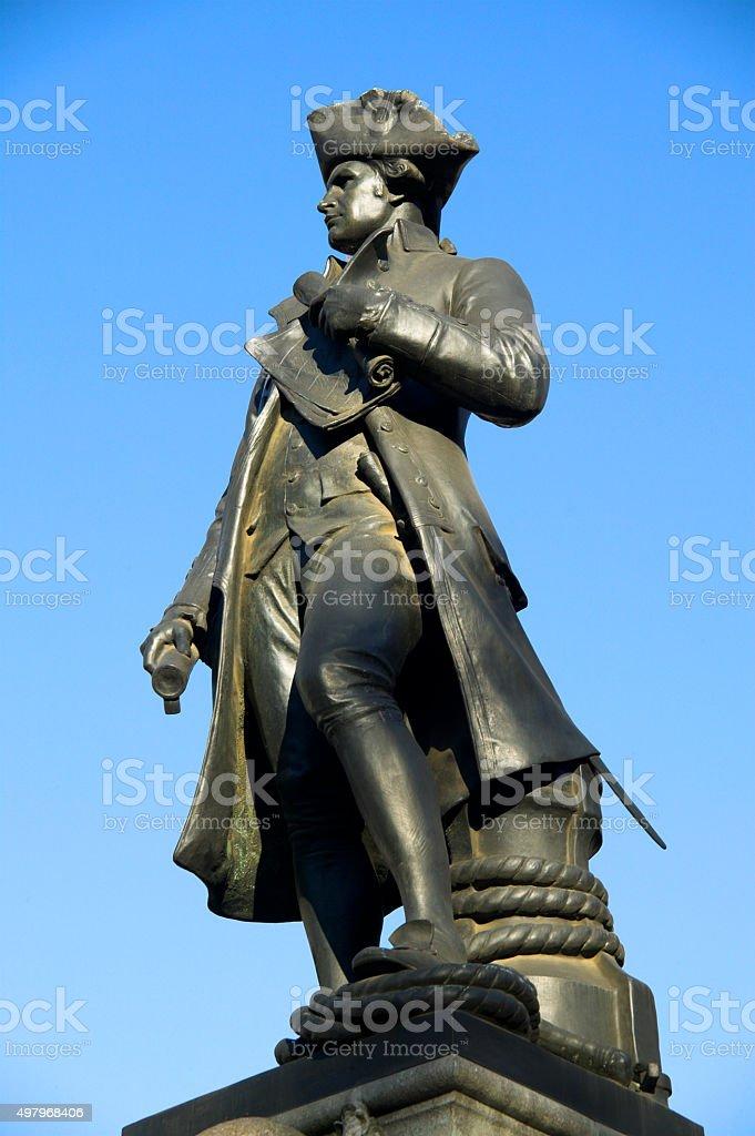 Captain Cook stock photo