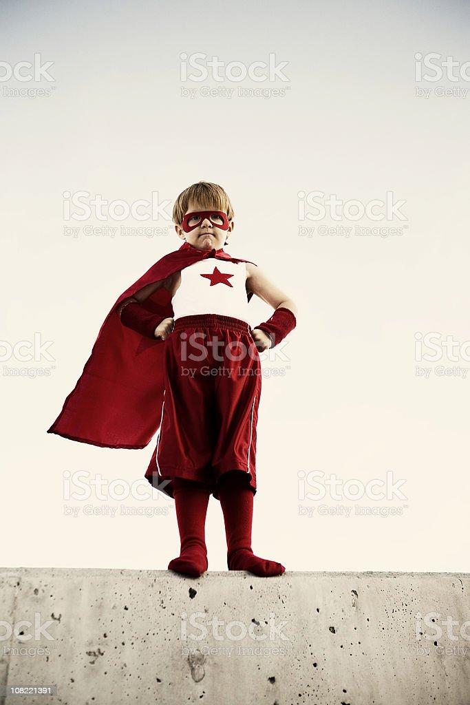 Captain Flash royalty-free stock photo
