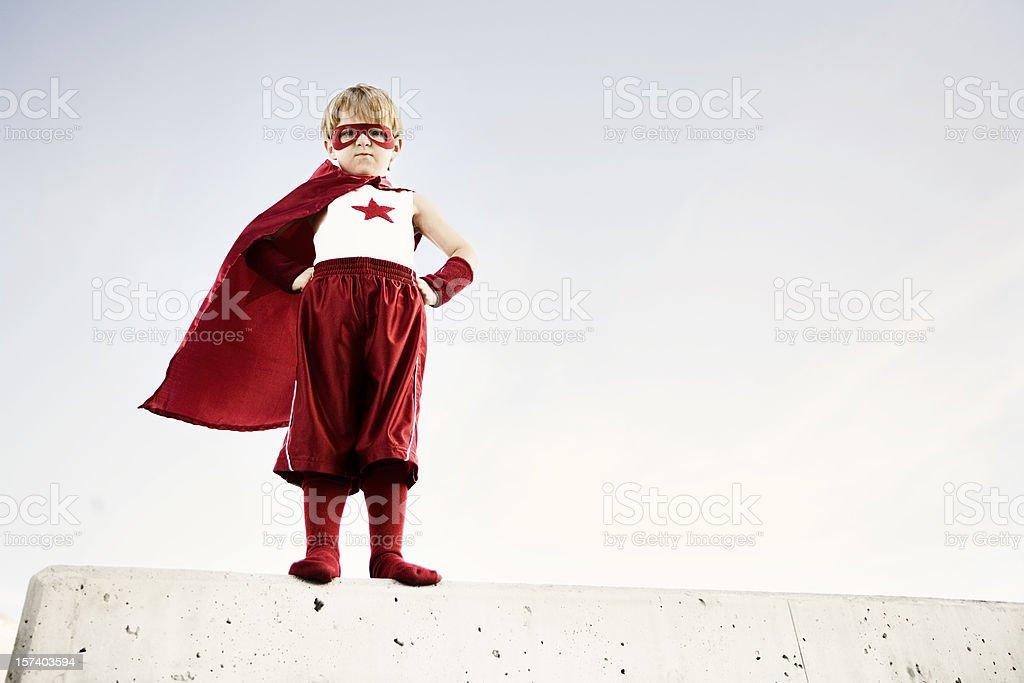 Captain Flash stock photo