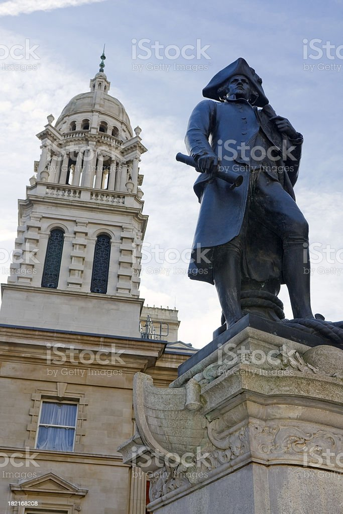 Captain James Cook stock photo