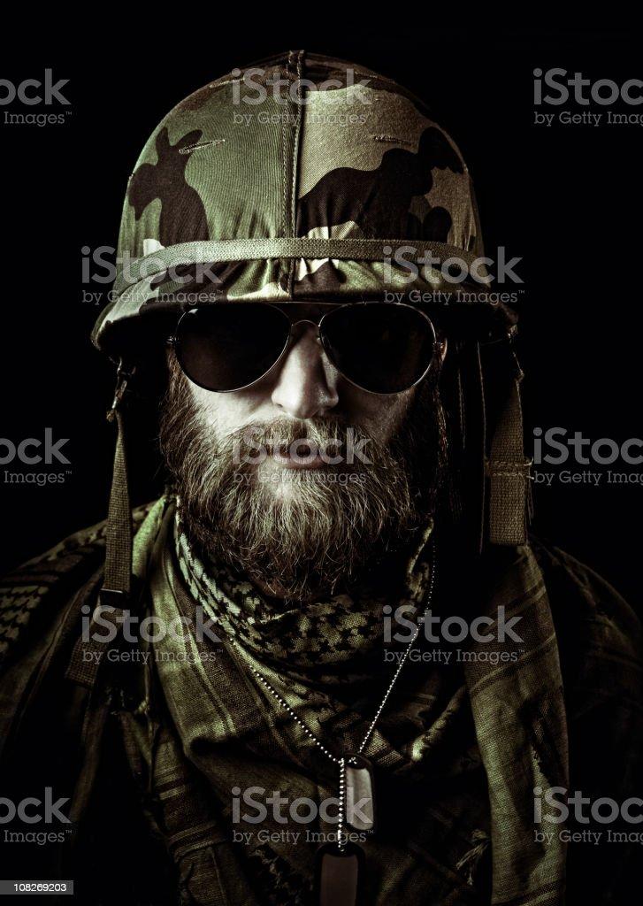 Captain Lombardou royalty-free stock photo