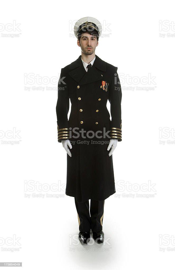 Captain royalty-free stock photo