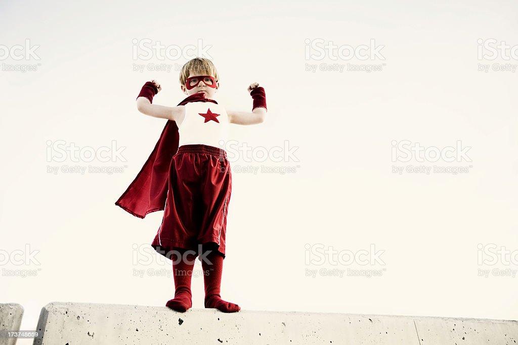 Captain Smash royalty-free stock photo