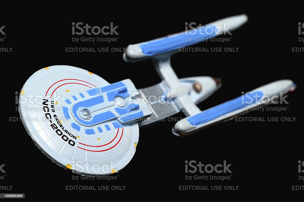 Captain Sulu Takes the Helm stock photo