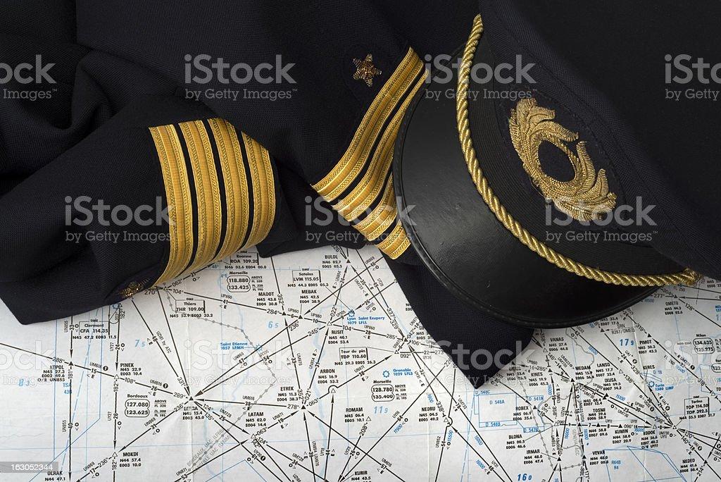 captain uniform stock photo