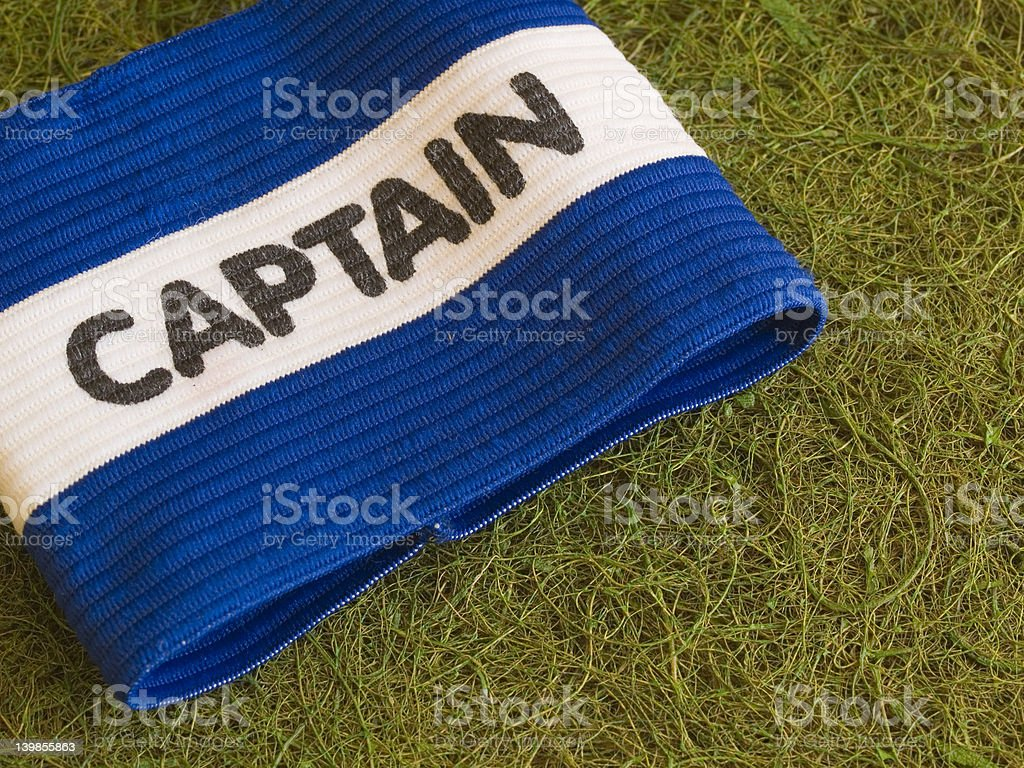 Captain's Armband royalty-free stock photo