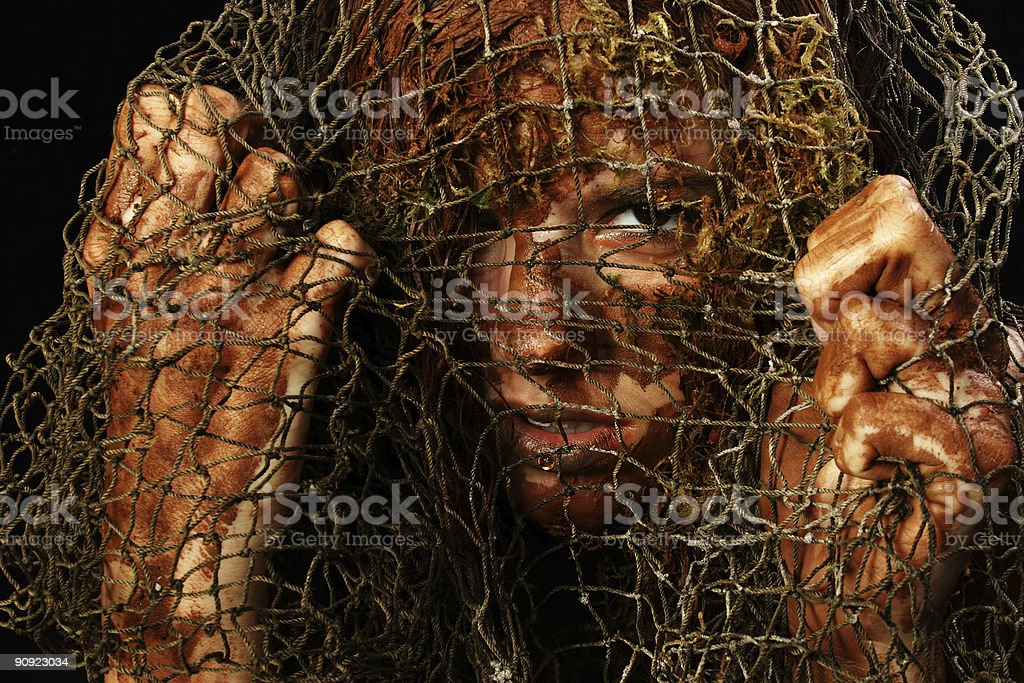 Captive royalty-free stock photo
