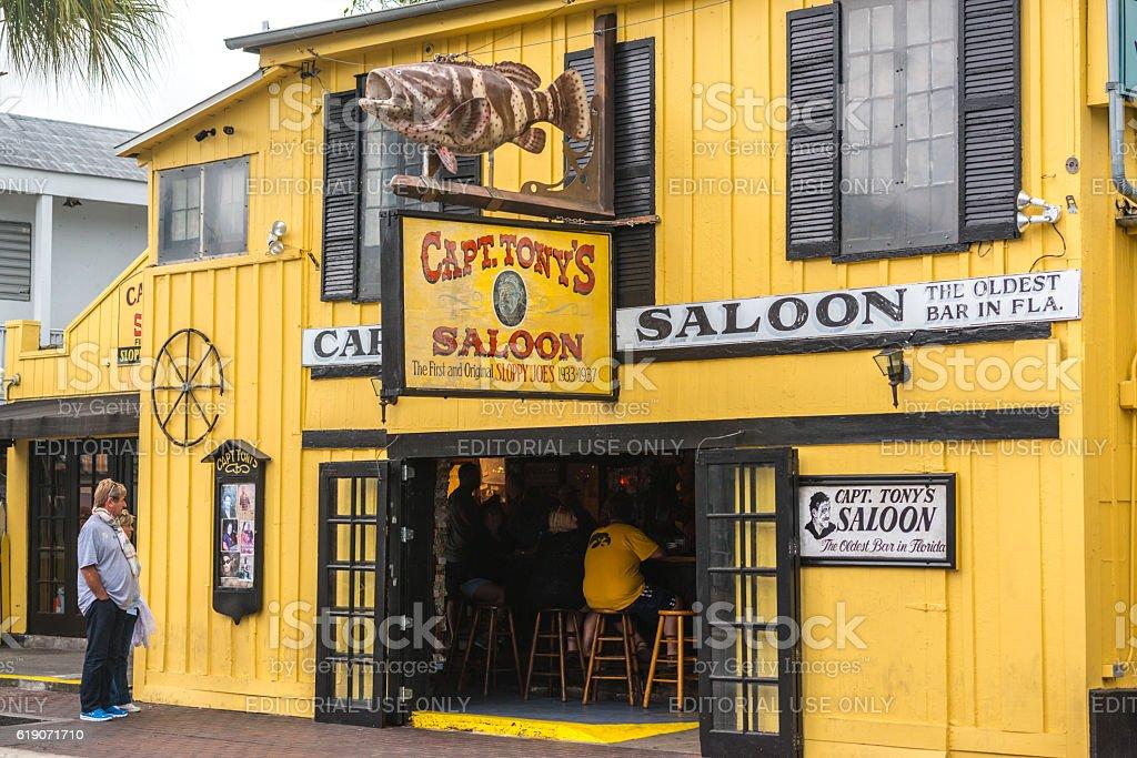 Capt.Tony's saloon, Key West, USA stock photo