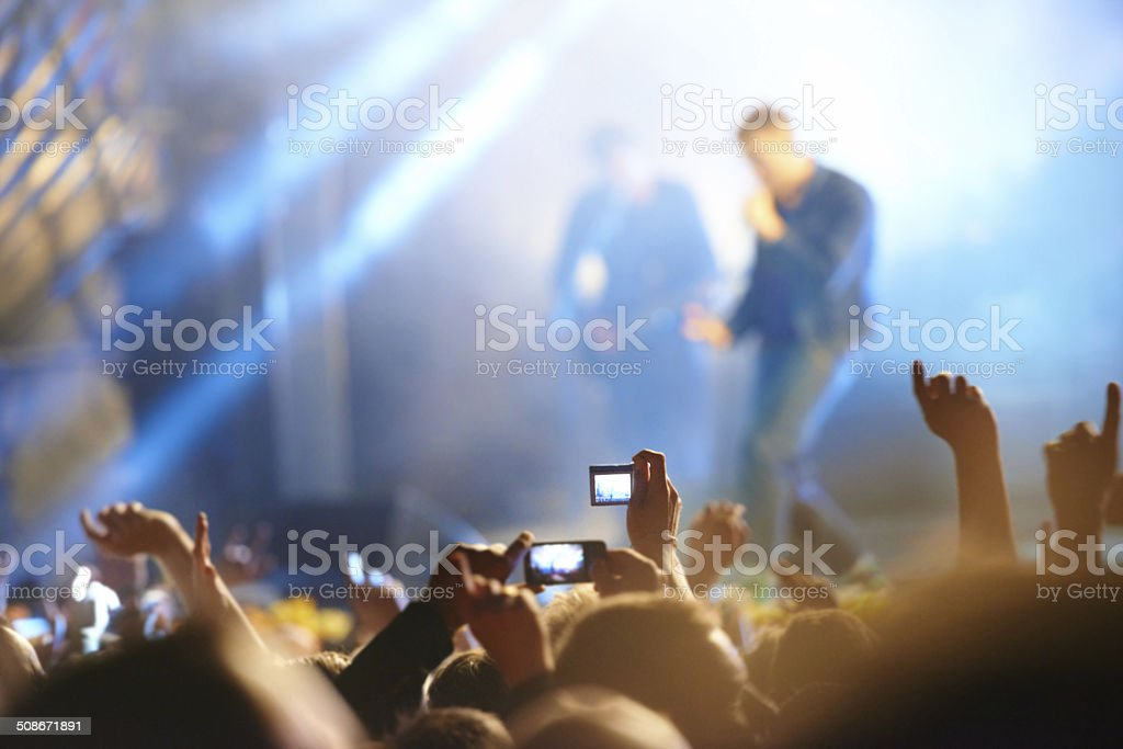 Capture the craziness! stock photo