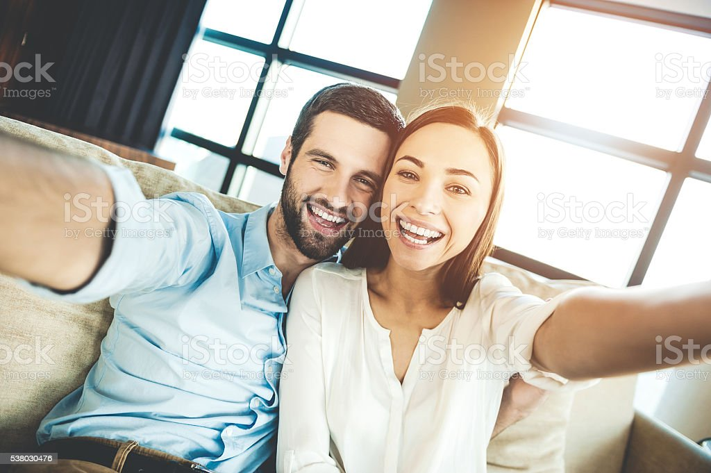 Capturing bright moments. stock photo