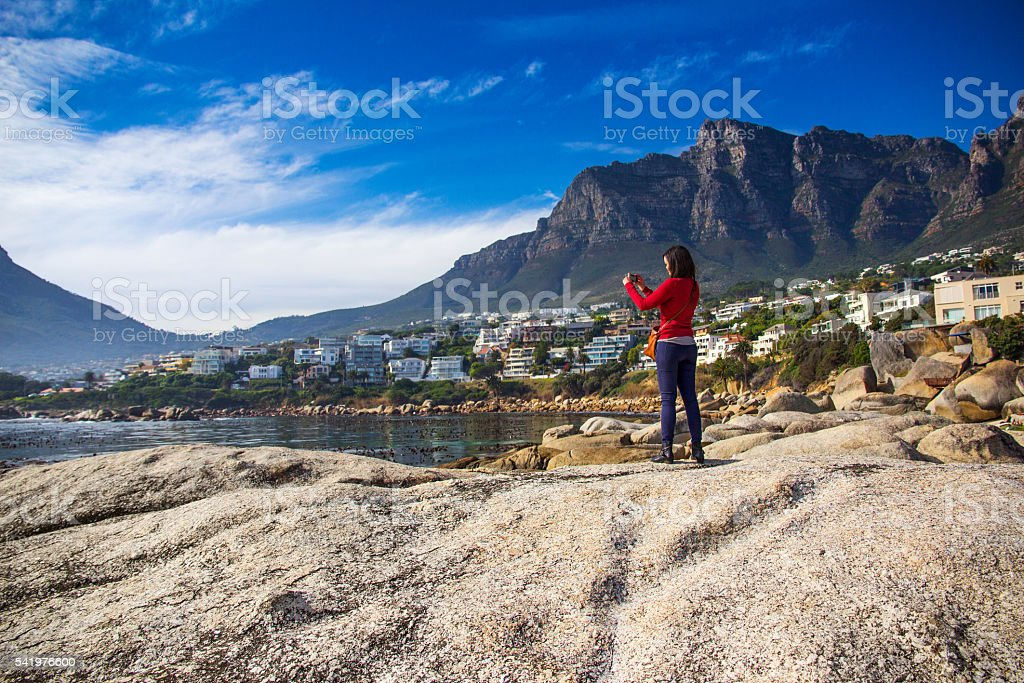 Capturing Cape Town stock photo