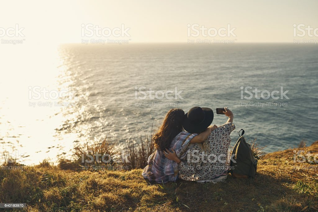 Capturing every minute of our journey stock photo