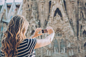 Capturing her travel experience