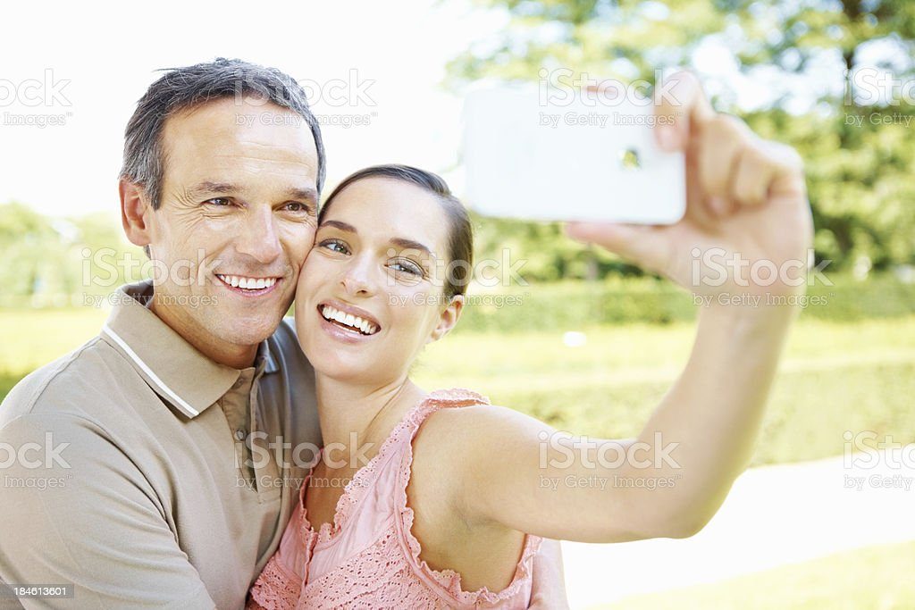 Capturing memories royalty-free stock photo