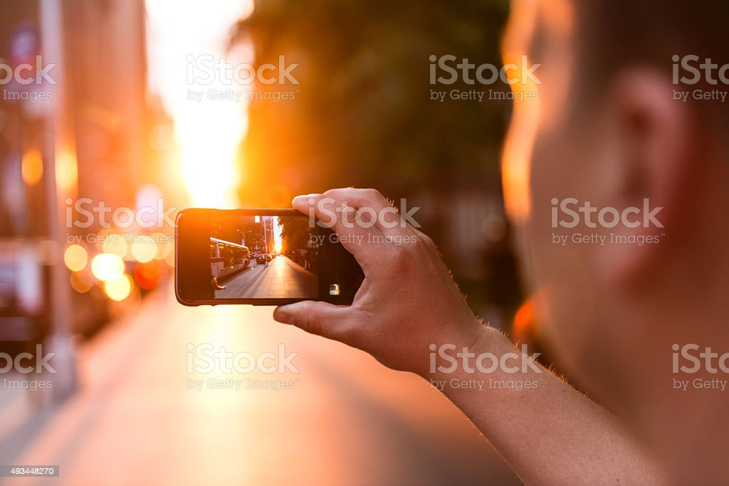 Capturing moments stock photo