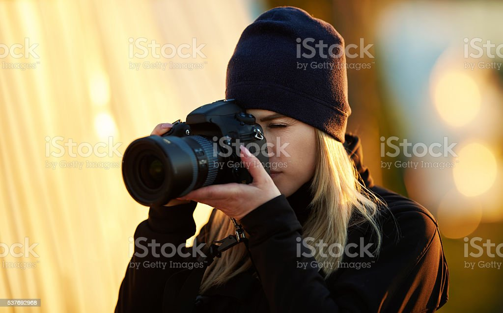 capturing the beauty of nature stock photo