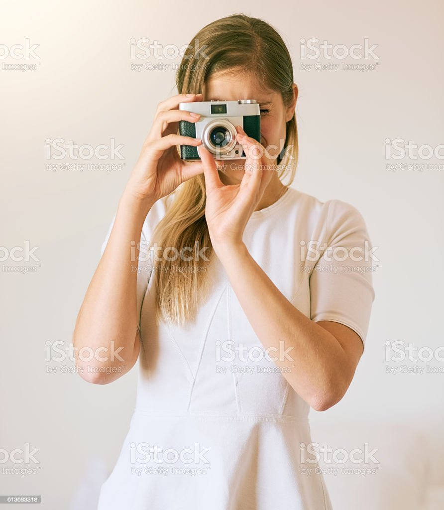 Capturing the world one image at a time stock photo