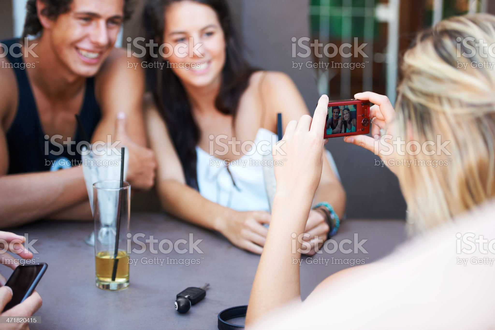 Capturing their happiest memories royalty-free stock photo