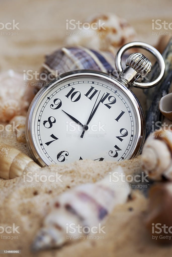 Capturing time royalty-free stock photo