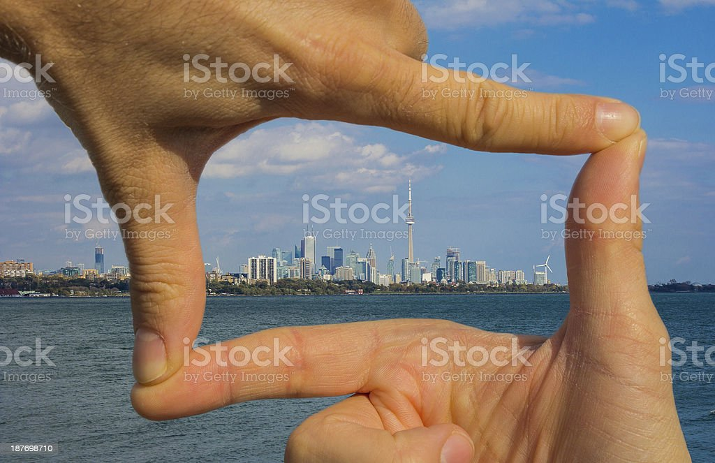 Capturing Toronto stock photo