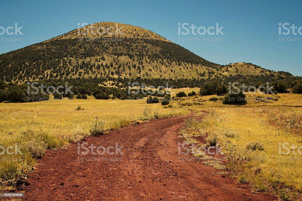 Capulan Volcano, Capulan New Mexico stock photo