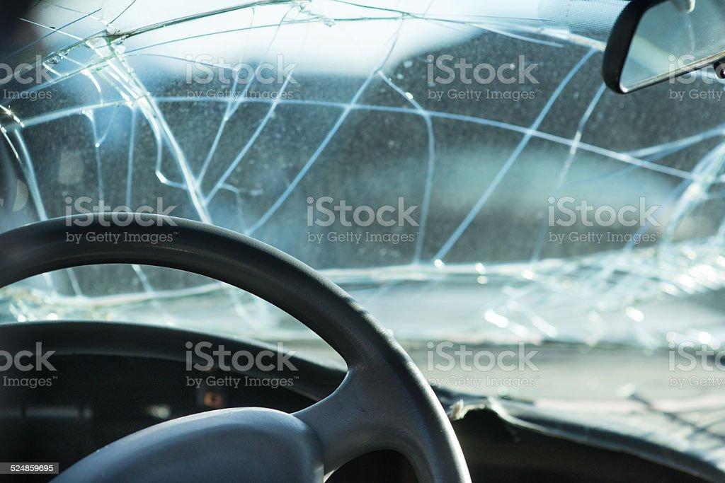 Car Accident Collision repair stock photo
