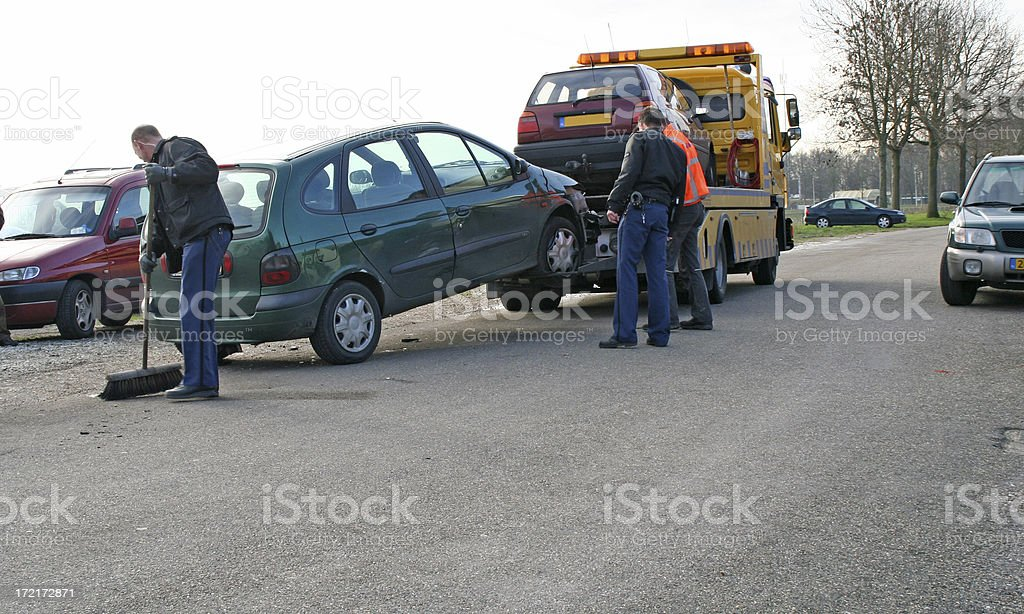 Car accident # 1 royalty-free stock photo
