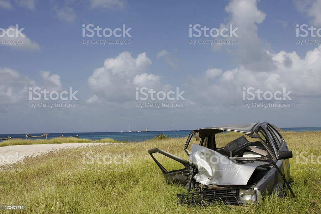Car accident # 4 royalty-free stock photo