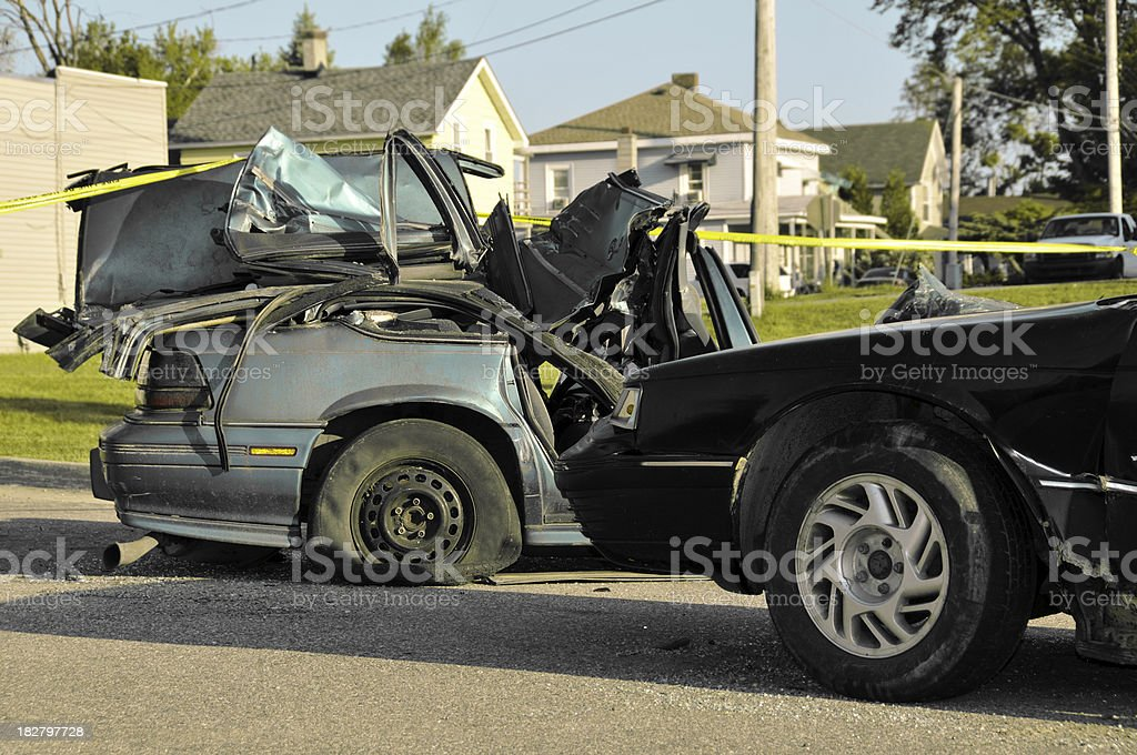 Car Accident royalty-free stock photo