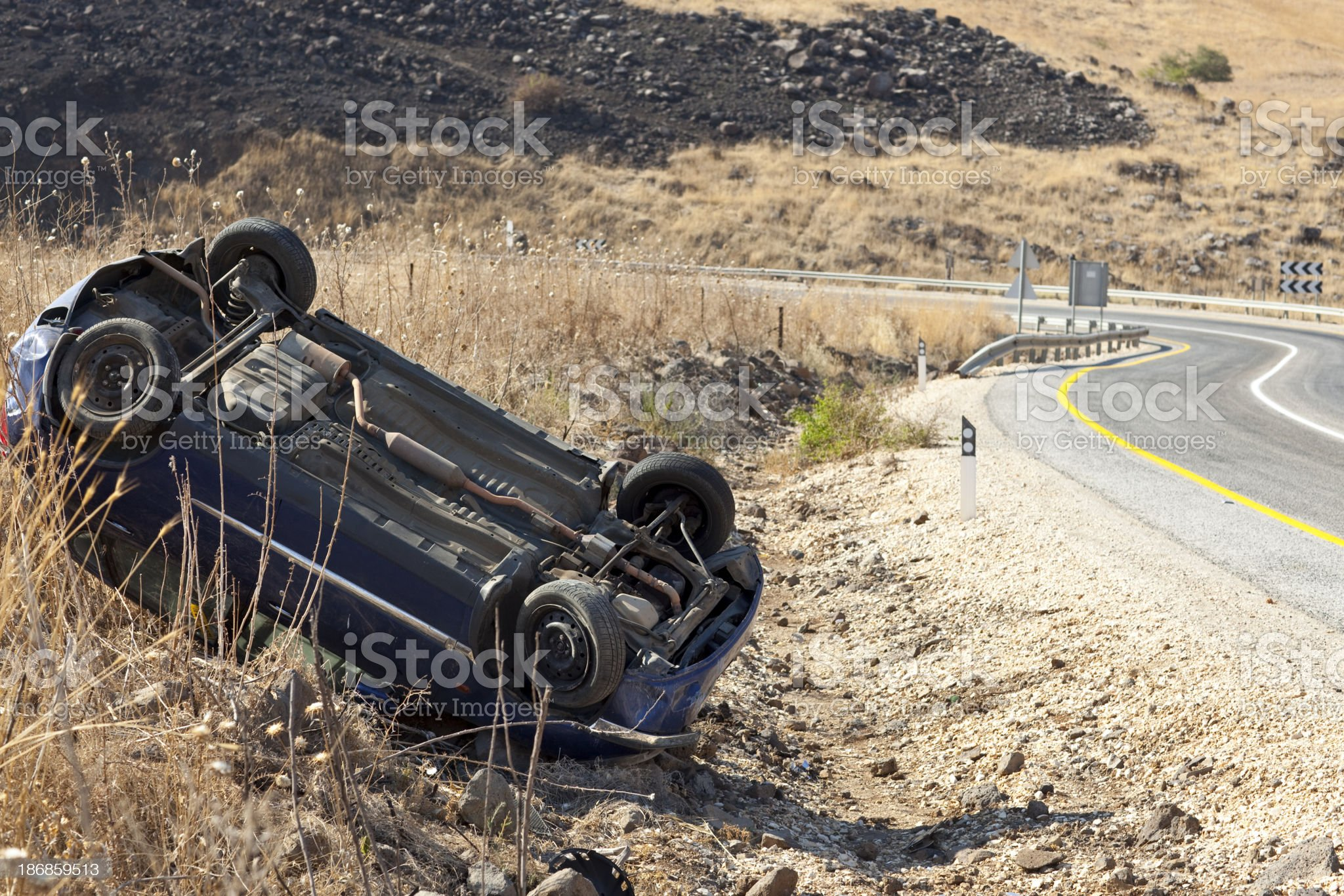 Car accident. royalty-free stock photo