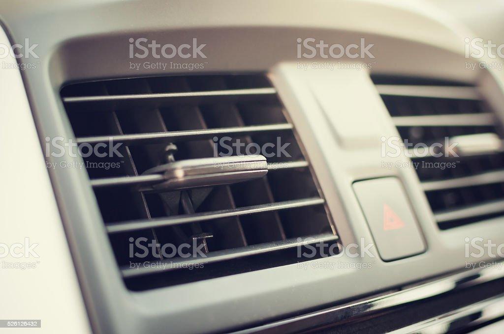 Car air condition stock photo