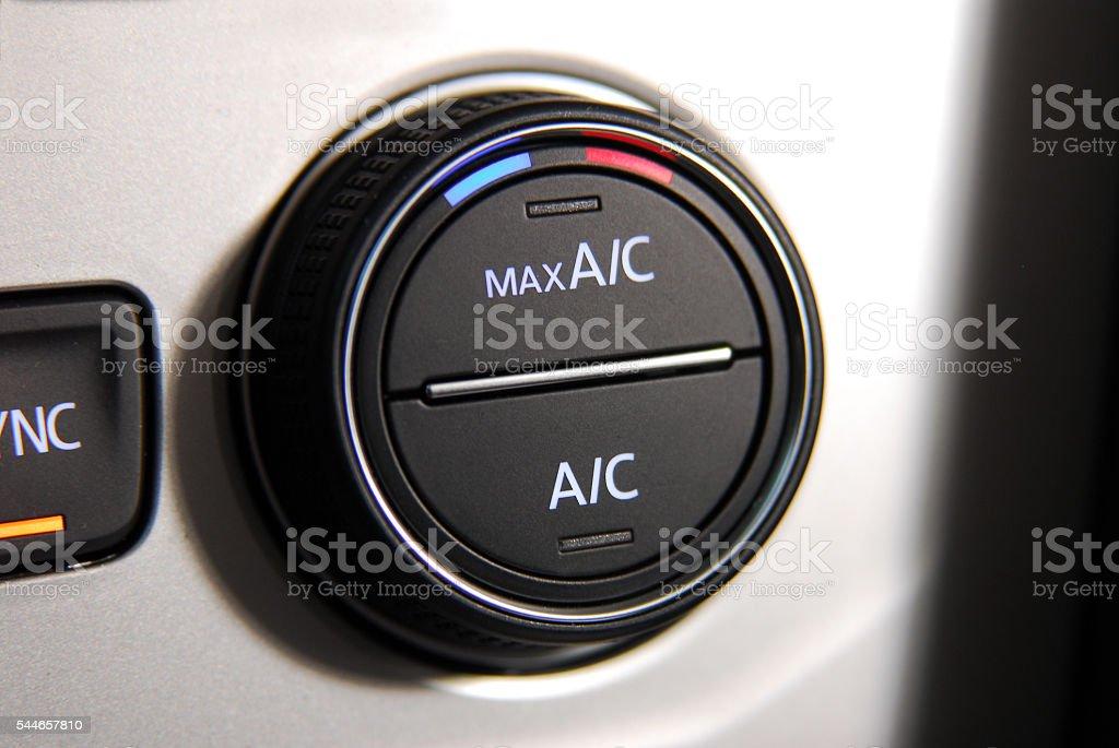 Car Air Conditioner stock photo