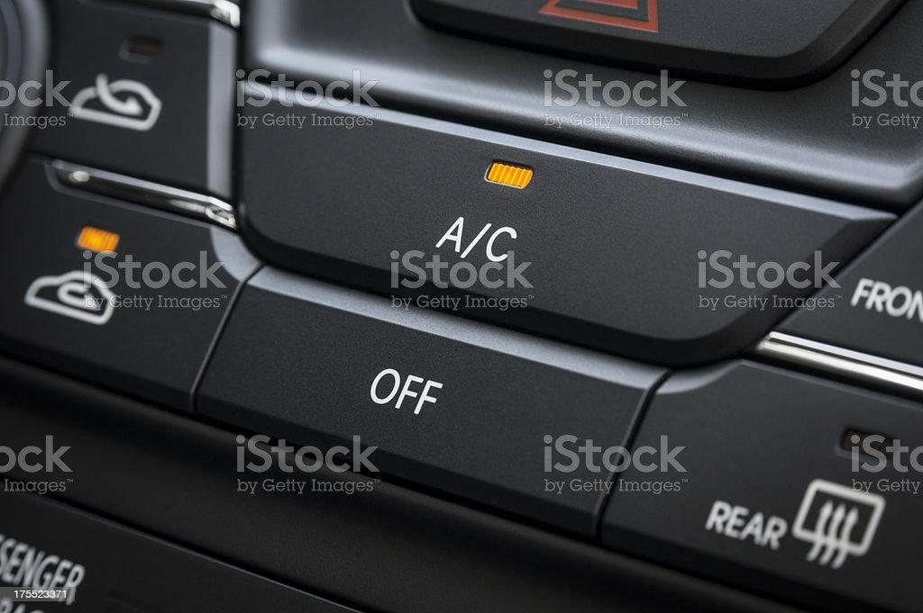 Car Air Conditioning royalty-free stock photo