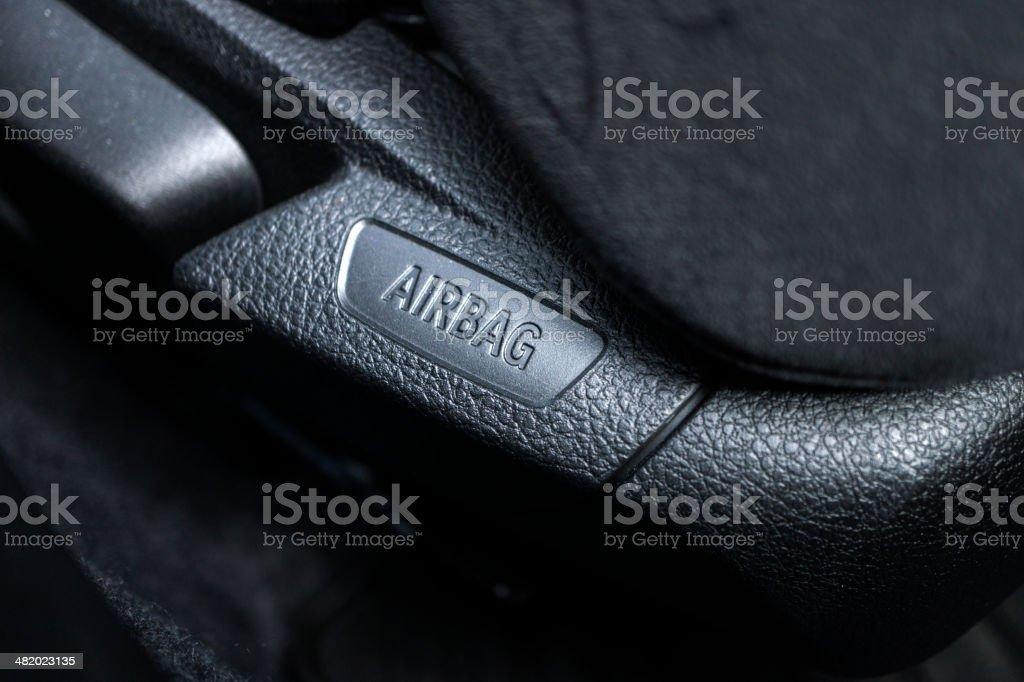 Car Airbag stock photo